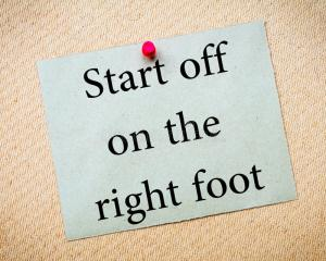 start-off-right-foot-message-recycled-paper-note-pinned-cork-board-concept-image-52627853